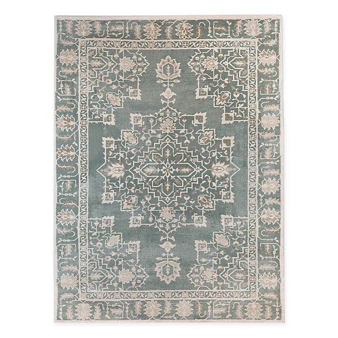 Bee Amp Willow Home Pastures Area Rug In Blue Bed Bath