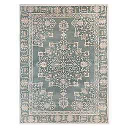 Bee & Willow™ Home Pastures 7'10 x 10' Area Rug in Blue