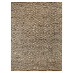 Bee & Willow™ Home Rhinestone Indoor/Outdoor Area Rug in Tan