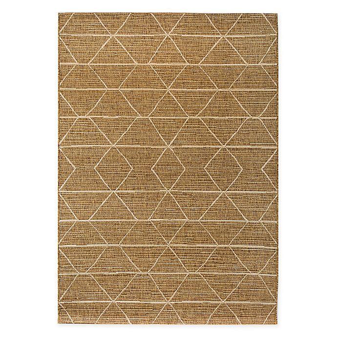 Alternate image 1 for Bee & Willow™ Home Grains Indoor/Outdoor Area Rug in Brown