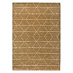 Bee & Willow™ Home Grains 7'10 x 10' Indoor/Outdoor Area Rug in Brown