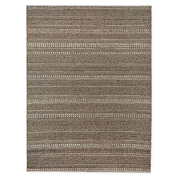 Alternate image 1 for Bee & Willow™ Home Barnwood Indoor/Outdoor Area Rug in Grey