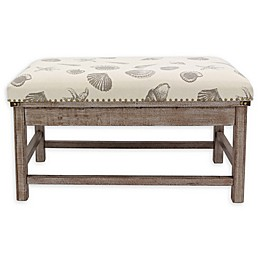 Decor Therapy® Canvas Upholstered Farley Ottoman