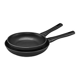 Zwilling® J.A. Henckels Madura Plus Nonstick Aluminum 2-Piece Fry Pan Set in Black