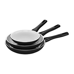 Zwilling® J.A. Henckels Carrara Ceramic Nonstick Aluminum 3-Piece Fry Pan Set