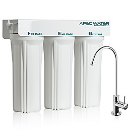 APEC Water 3-Stage Under Counter Water Filtration System