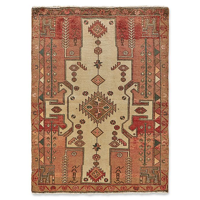Feizy Rugs Antique Mousel 3 4 X 5 Area Rug In Blush Beige Bed