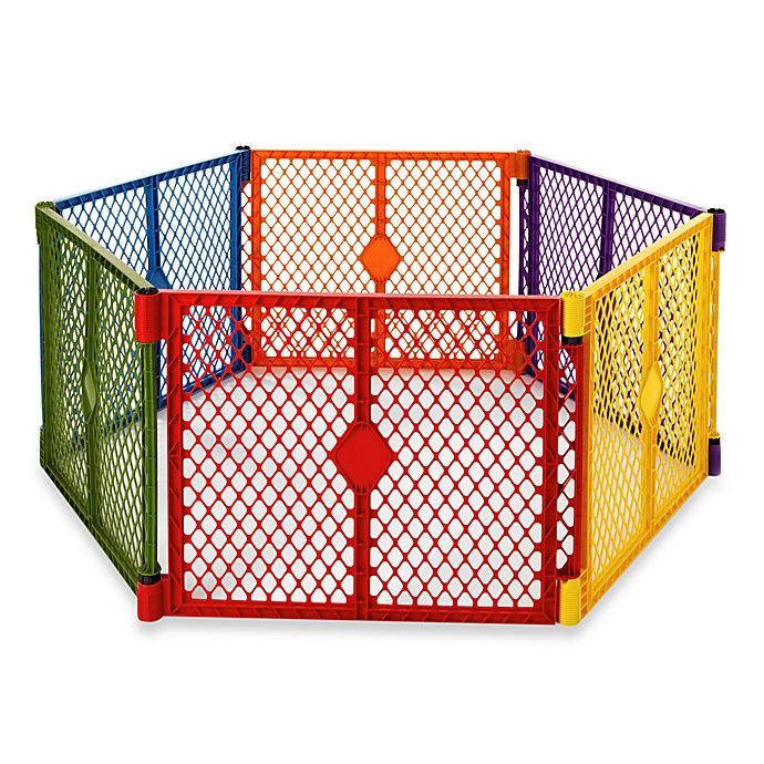 Alternate image 1 for Toddleroo by North States® Superyard Colorplay® Playyard