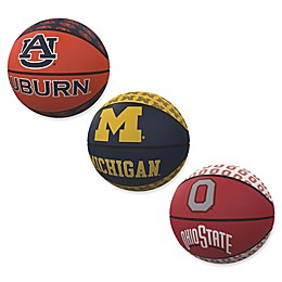 Collegiate Repeat Logo Mini Rubber Basketball Collection