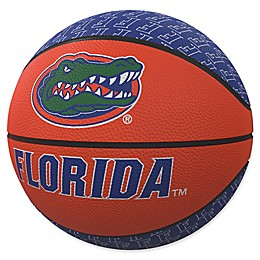 University of Florida Repeat Logo Mini Rubber Basketball