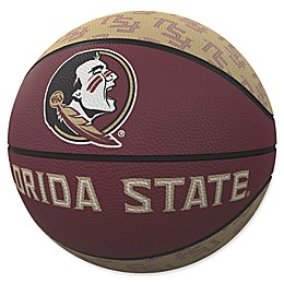 Florida State University Repeat Logo Mini Rubber Basketball