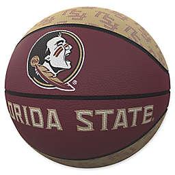Florida State University Repeat Logo Mini Rubber Basketball