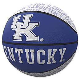 University of Kentucky Repeat Logo Mini Rubber Basketball