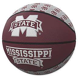 Mississippi State University Repeat Logo Mini Rubber Basketball