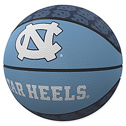University of North Carolina Repeat Logo Mini Rubber Basketball