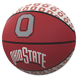 Ohio State University Repeat Logo Mini Rubber Basketball
