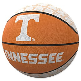 University of Tennessee Repeat Logo Mini Rubber Basketball