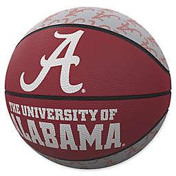 University of Alabama Repeat Logo Mini Rubber Basketball