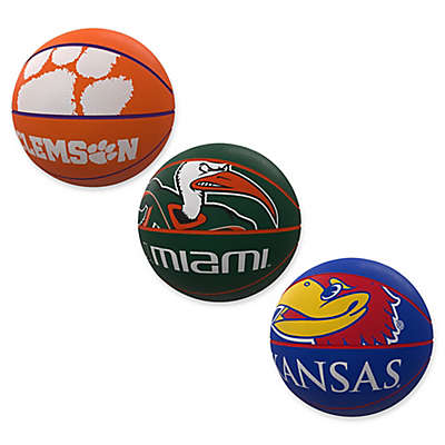 Collegiate Mascot Official-Size Rubber Basketball Collection