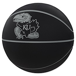 University of Kansas Blackout Full-Size Composite Basketball