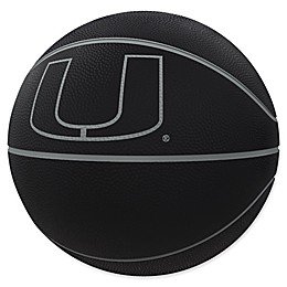 University of Miami Blackout Full-Size Composite Basketball