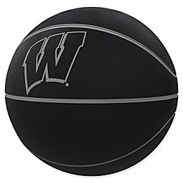University of Wisconsin Blackout Full-Size Composite Basketball