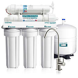 APEC Water® Essence UV-Sanitizing 6-Stage 75 GPD Reverse Osmosis Water Filtration System