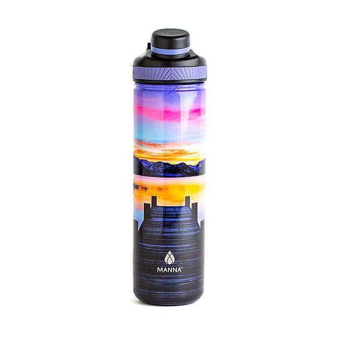 Alternate image 1 for Manna™ Ranger PRO 26 oz. Water Bottle in Lake