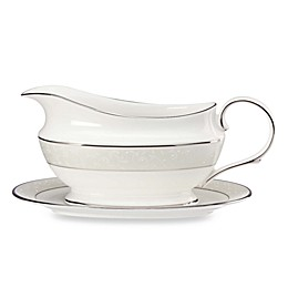 Lenox® Opal Innocence Gravy Boat and Stand