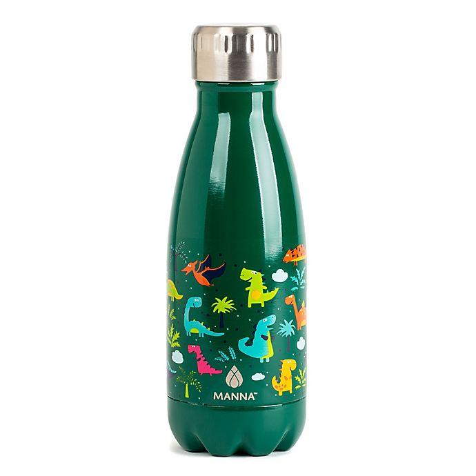 Alternate image 1 for Manna™ Vogue® Kids 9 oz. Water Bottle in Dinosaur