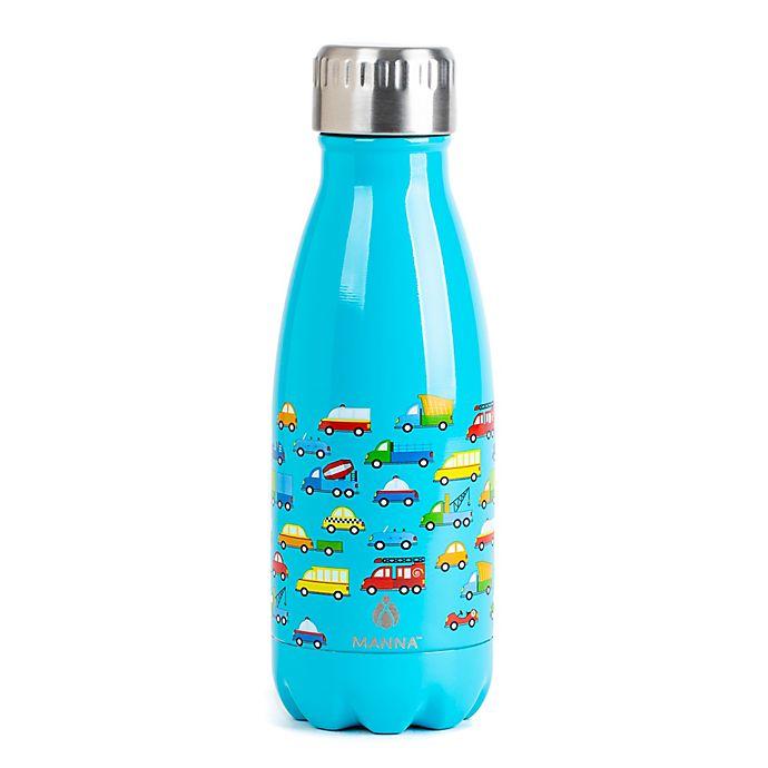 Alternate image 1 for Manna™ Vogue® Kids 9 oz. Water Bottle in Cars