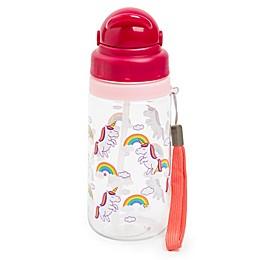 Manna™ Ollie 18 oz. Unicorn Water Bottle with Straw in Green