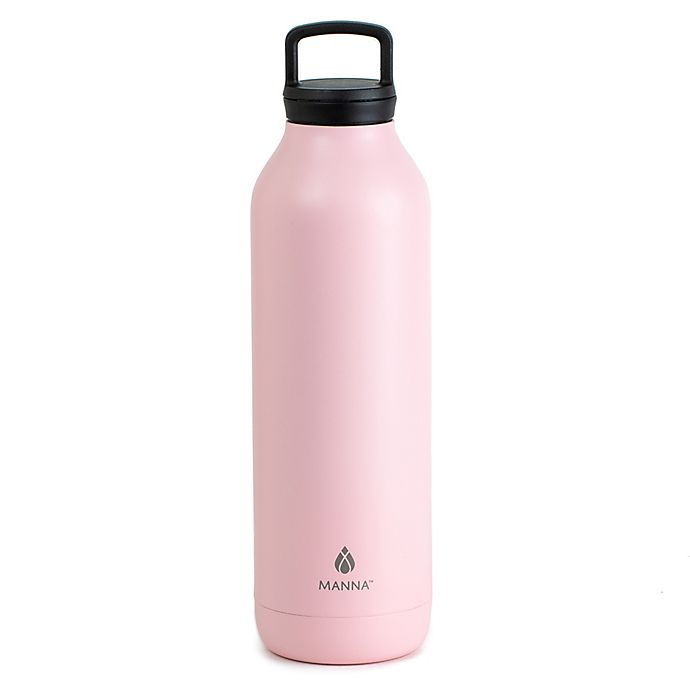 Alternate image 1 for Manna™ 26 oz. Immerse Double Wall Insulated Fruit Infuser in Pink/Green