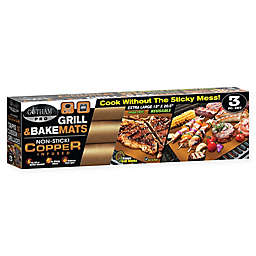 Gotham Steel PRO Extra Large Grill and Bake Mats (Set of 3)
