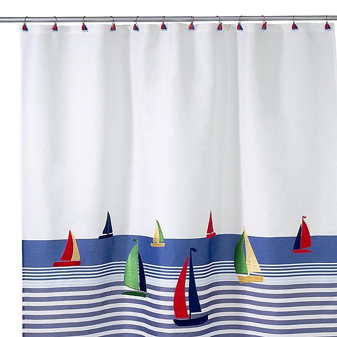 Avanti Regatta Shower Curtain
