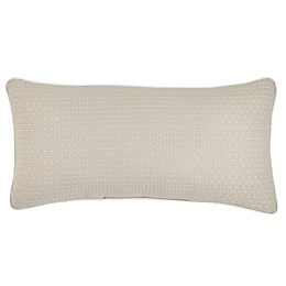 Croscill® Adriel Embroidered Boudoir Throw Pillow in Ivory
