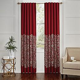 Croscill® Adriel Embroidered Rod Pocket Window Curtain Panel Pair
