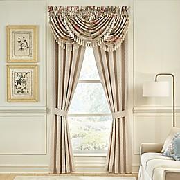 Croscill® Carlotta Window Curtain Panel Pair in Taupe