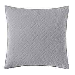 Wamsutta Logan European Pillow Sham in Grey
