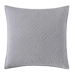 Wamsutta Logan European Pillow Sham in Grey