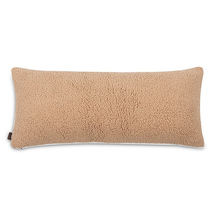Alternate image 1 for UGG® Classic Sherpa Bolster Throw Pillow