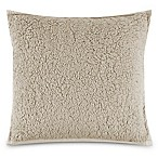 UGG® Classic Sherpa Square Throw Pillow in Ceramic