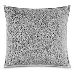 UGG® Classic Sherpa Square Throw Pillow in Glacier Grey