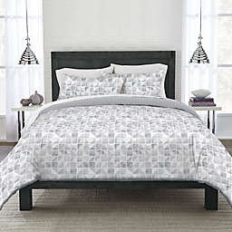 Canadian Living Printed Square Reversible Coverlet