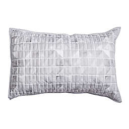 Canadian Living Printed Square Standard Pillow Sham in Grey