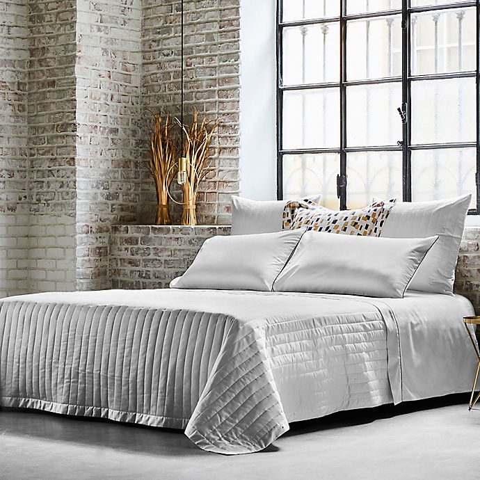 Alternate image 1 for Frette At Home Vertical Coverlet