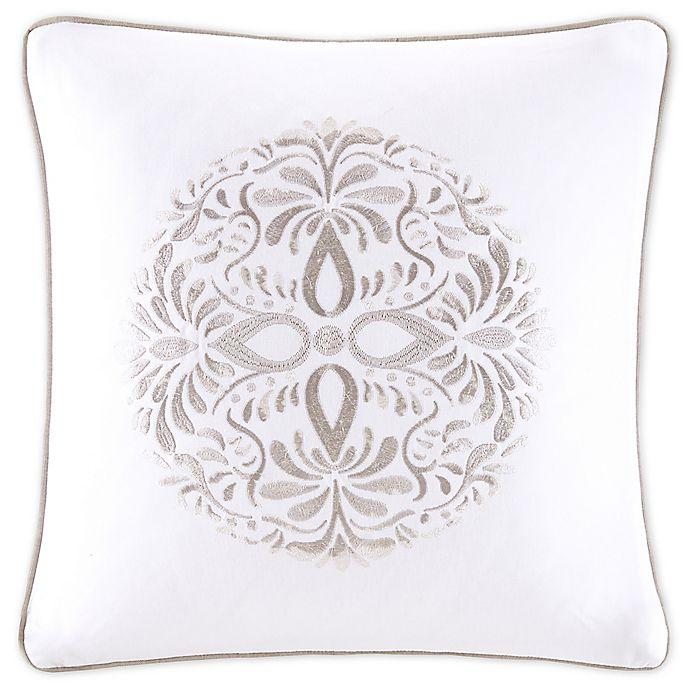 Alternate image 1 for Bridge Street Medallion Matelasse Square Throw Pillow