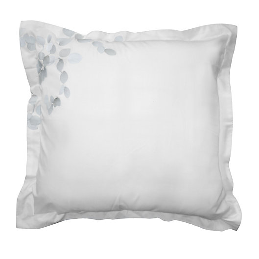 Alternate image 1 for Canadian Living Jasper European Pillow Sham in White