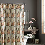 Croscill® Mosaic Leaves 70-Inch x 72-Inch Fabric Shower Curtain