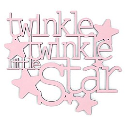 Twinkle Twinkle Little Star 13-Inch x 11.5-Inch Framed Wall Art